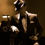 "Photo Caption: Danny Grewen as ""Frank Sinatra."" Photo Credit: Andrew Snook / Examiner.com"