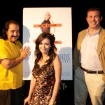 Ron Jeremy, Crissy Moran, and Director Bryce Wagoner