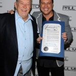 Robin Leach and Angus Mitchell at the 2012 Caper Event