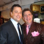 Jimmy Kimmel and Louis Prima Jr. at the Prma Notte Fundraising Gala