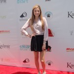 Alana Lee on the red carpet at the Style Lounge Gifting Suite in honor of the Teen Choice Awards
