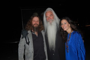 Rising country singer Marthia Sides with fellow rising country artist Jamey Johnson (left) and William Lee Golden of The Oak Ridge Boys (right) at Alabama Music Hall Of Fame 13th Induction Banquet and Awards Show on March 25.