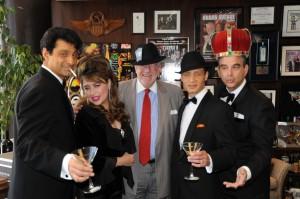 Tony Basile (Dean Martin); Lisa Dawn Miller (Producer / Frank's 'One Love'); Mayor Oscar B. Goodman; David DeCosta (Frank Sinatra); Sandy Hackett (Producer / Joey Bishop)
