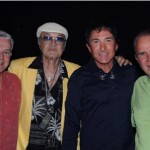 BOB BYERS (Producer, 'Greg London's ICONS,'); STEVE ROSSI of Allen & Rossi, GREG LONDON and RICH LITTLE.