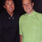 GREG LONDON, RICH LITTLE (Backstage at the opening of Greg London's ICONS at The Riviera Hotel & Casino in Las Vegas).