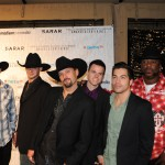 Emerging Los Angeles-based country group Coldwater Canyon Band walking the Red Carpet at the Hollywood Music In Media Awards on November 18 at The Highlands located in the Kodak Theater Complex/Hollywood & Highland Center.