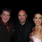 Louis Prima Jr., UFC President Dana White, and Sarah Spiegel at the Boys Town of Nevada's 8th Annual Gala at The Venetian Casino, Hotel & Resort in Las Vegas on May 31