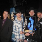 "Rockin' Los Angeles-based country group Coldwater Canyon Band with their award for Best Country Song for their hit single ""Nobody Knows"" at the Hollywood Music In Media Awards on November 18 at The Highlands located in the Kodak Theater Complex/Hollywood & Highland Center."