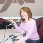 PHOTO CAPTION: JOANNA MOSCA at WLLX 97.5 FM in Lawrenceburg, TN