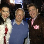 Sarah Spiegel, Tommy Lasorda, and Louis Prima Jr. at the Prima Notte Fundraising Gala