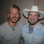 PHOTO CAPTION: Country hit-maker Phil Vassar and rising country singer-songwriter Shane Wyatt at the legendary Surf Ballroom in Clear Lake, Iowa, on June 11.