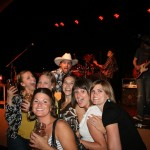PHOTO CAPTION: Rising country singer-songwriter Shane Wyatt with fans at the opening night of Toby Keith's I Love This Bar & Grill in St. Louis Park, Minn., on June 4.