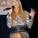 Amber Lynn speaking at 'After Porn Ends' screening