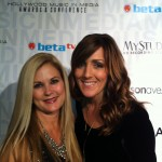Cathy-Anne McClintock (right) and friend (left) at the HMMAs