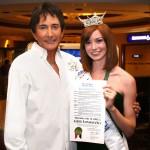 PHOTO CAPTION (left to right): GREG LONDON, Christina Keegan, Miss Nevada 2009.