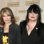 "Photo Caption: (Left to Right) HEART's Nancy and Ann Wilson fill in for Elton John at ""Brian Wilson and Friends,"" a benefit concert and celebration for the Carl Wilson Foundation, Thursday, October 16th at UCLA's Royce Hall, Los Angeles. (Photo courtesy of Luck Media)"