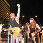 Billy Ray Cyrus rocks the crowd at the Stratosphere in Las Vegas.