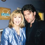 """Country music hearthrob, Billy Ray Cyrus (right), is keeping a very busy schedule lately. Cyrus made a recent appearance on the Leeza (left) television show performing his latest hit single """"Busy Man"""" from his Mercury Nashville CD Shot Full Of Love."""