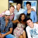 "PHOTO CAPTION: Los Angeles based country group Coldwater Canyon Band visits ""Indie Style"" in Atlanta. PHOTO CREDIT: Indie Style TV."