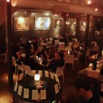 Interior of 320 Wine Lounge