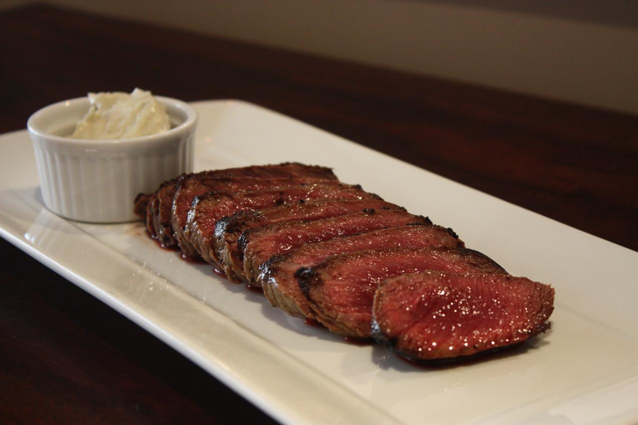 Skillet steak with Roquefort butter « Luck Media & Marketing, Inc ...